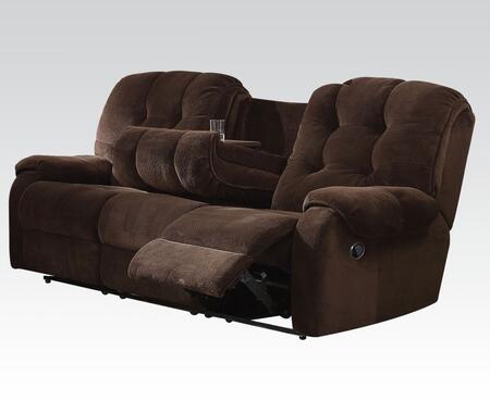 Acme Furniture 51145 Nailah Series  Fabric Sofa