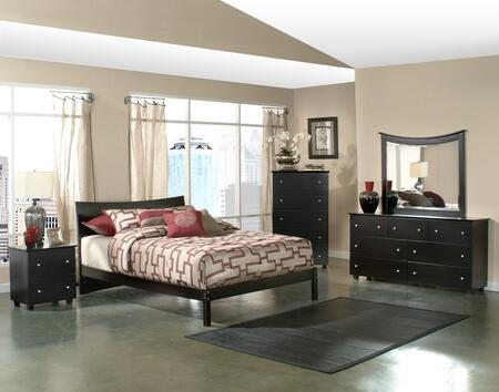 Atlantic Furniture SOHOFESFL  Full Size Bed