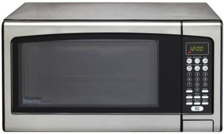 Danby DMW111KPSSDD Countertop Microwave, in Stainless Steel