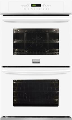 "Frigidaire FGET2765PW 27"" White Double Wall Oven"