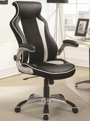 "Coaster 800048 27 1/2"" Adjustable Contemporary Office Chair"