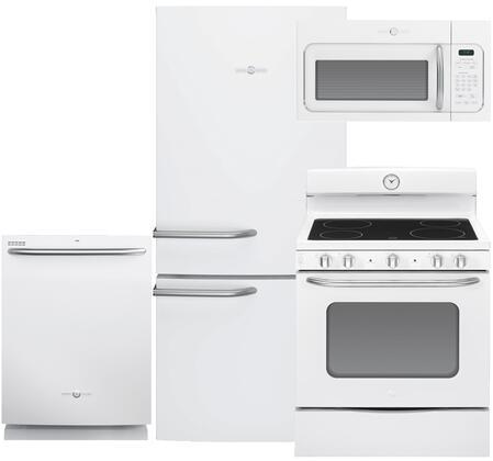 GE GE4PCFSBF30EFIWKIT2 Artistry Kitchen Appliance Packages