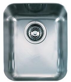 Franke LAX110 Largo Series Undermount Single Bowl Sink in Stainless Steel