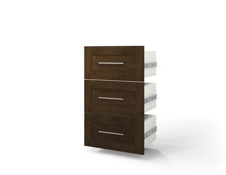 "Bestar Furniture 26163 Pur by Bestar 3-Drawer set for 25"" storage unit"
