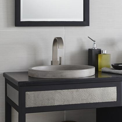 """Native Trails NativeStone Bath Sinks Collection 19"""" Tolosa Bathroom Sink with 1.5"""" Drain Opening, Single Bowl, Lightweight Concrete Material, Scratch and Stain Resistant in"""