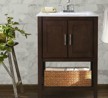 Legion Furniture WLF6020 24 Sink Vanity With Basket