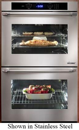 """Dacor Distinctive Series DTO230 30"""" Double Wall Electric Self-Cleaning Convection Oven with 4.8 cu. ft. Capacity, GreenClean Cleaning Technology, Broil Element, GlideRack in"""