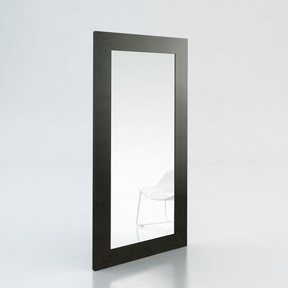 Modloft SP924WEN Norfolk Series Rectangular Both Wall Mirror