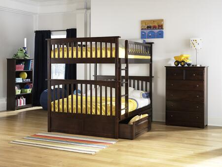 Atlantic Furniture COLFFAW  Full Size Bed