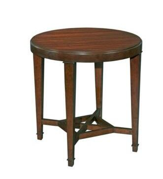 Broyhill 8053006 Antiquity Series Traditional Round End Table