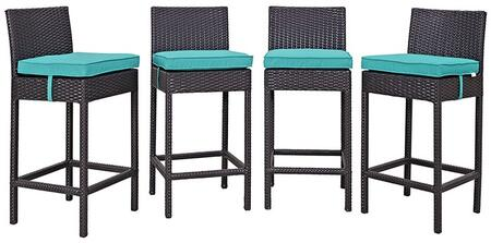 Modway EEI2218EXPTRQSET Rectangular Shape Patio Sets