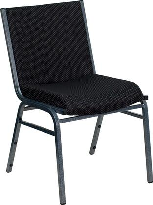 """Flash Furniture HERCULES Series XU-60153-XX-GG 18"""" Heavy Duty 3"""" Thickly Padded Patterned Upholstered Stack Chair with 18-Gauge High Carbon Steel Frame, and Plastic Floor Glides"""