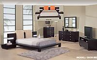 Global Furniture USA G020BEIQUEENSET 5 Piece Bedroom Set