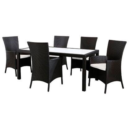 VIG Furniture VGCW2107 Contemporary Rectangular Shape Patio Sets