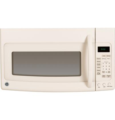 GE JVM1950DRCC 1.9 cu. ft. Over the Range Microwave Oven with 400 CFM, 1100 Cooking Watts, in Bisque