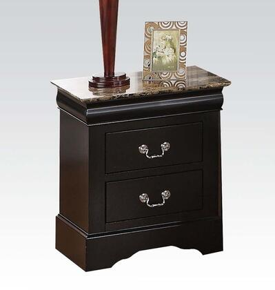 Acme Furniture 20023 Louis Philippe III Series Rectangular Wood Night Stand
