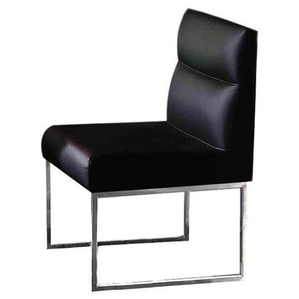 VIG Furniture VGUNAA022 A & X Series Modern Metal Frame Dining Room Chair