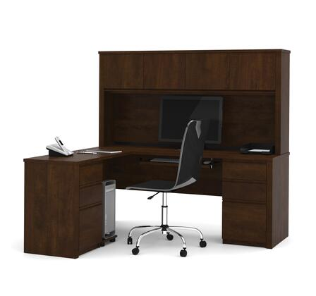 Bestar Furniture 99852 Prestige + L-shaped workstation