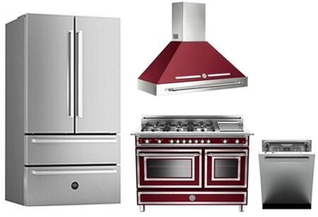 Bertazzoni 768368 Professional Kitchen Appliance Packages