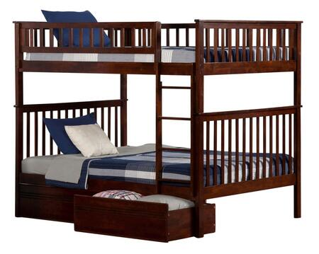 Atlantic Furniture AB56514  Full Size Bunk Bed