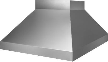 Prizer Hoods SILVI Silverado Island Hood with Seamless Construction, 50 Watt Halogen Variable Light Control, High Heat Sensor, Baffle Filters and 3 Fan Speeds, in Stainless Steel