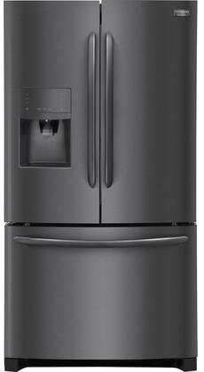 Frigidaire FGHF2367Tx Gallery Series French Door Counter-Depth Refrigerators with 21.9 cu. ft. Capacity, Ice Maker and Water Dispenser