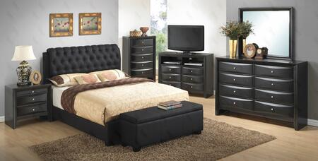 Glory Furniture G1500CTBUPDMNB G1500 Twin Bedroom Sets