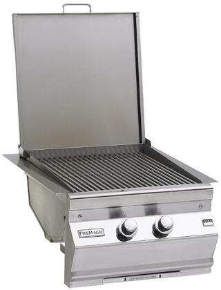 FireMagic 3288-1X Double Searing Built In Station and X Side Burner, 32,000 Total BTUs, Stainless Steel Grid: Stainless Steel