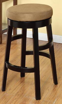 Armen Living LC4050BABR30 Residential Bycast Leather Upholstered Bar Stool