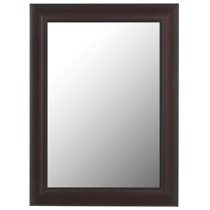 Hitchcock Butterfield 68070X Reflections Red Mahogony Black Trim Framed Wall Mirror