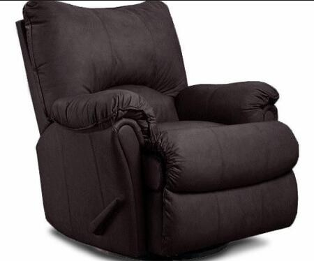 Lane Furniture 2053 Lane Alpine Pad-Over-Chaise Glider Recliner in