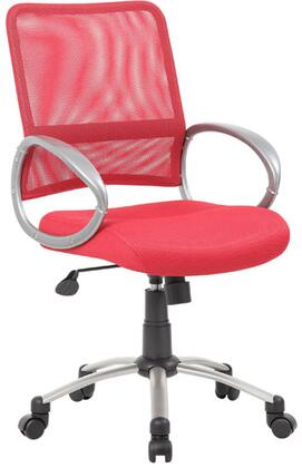 "Boss B6416RD 25"" Adjustable Contemporary Office Chair"