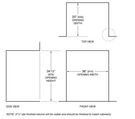 Sub Zero Id36c Appliances Connection