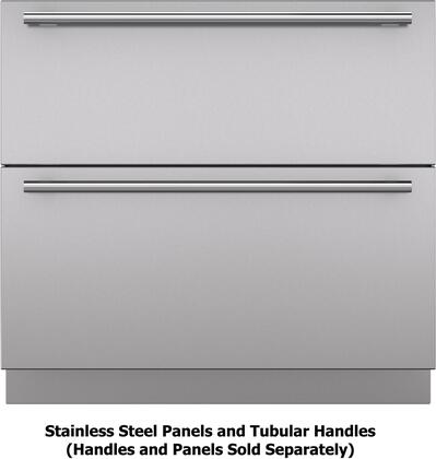 Stainless Steel Panels and Tubular Handles Configuration