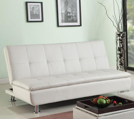 Acme Furniture 57143 Derrick Series Chair Sleeper Bycast Leather Sofa
