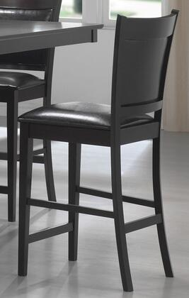 Coaster 100959 Jaden Series Residential Faux Leather Upholstered Bar Stool