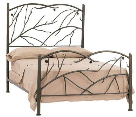 Stone County Ironworks 904092  Queen Size HB & Frame Bed