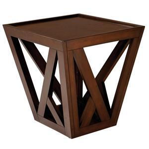 Standard Furniture 26152 Prism Series  End Table