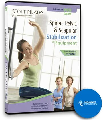 MERRITHEW DV8115X Spinal, Pelvic, and Scapular Stabilization DVD