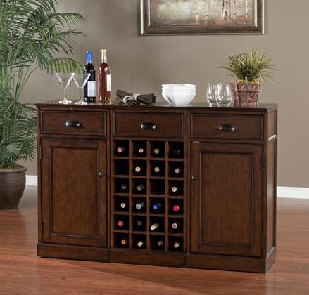 "American Heritage 60007NAV3 Natalia Series 54"" Wine Bar,"