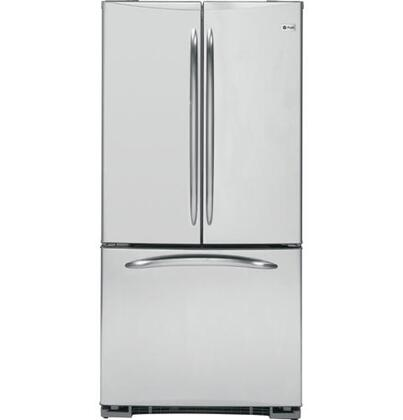 GE PFSS2MIYSS Profile Series  French Door Refrigerator with 22 cu. ft. Total Capacity 4 Glass Shelves