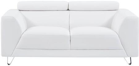 Incredible Global Furniture Usa U8210Plutowhiteloveseat Bralicious Painted Fabric Chair Ideas Braliciousco