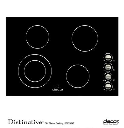 "Dacor DECT304B 30"" Electric Cooktop"
