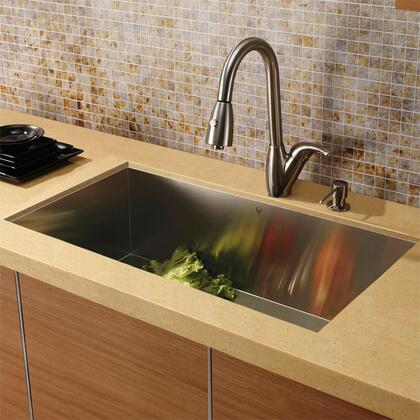 Vigo VG15014 Stainless Steel Kitchen Sink | Appliances Connection