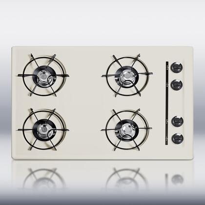 Summit STL05P  Gas Open Style Cooktop