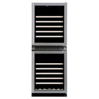 "Marvel 66WCMBSGR 24.13"" Freestanding Wine Cooler"