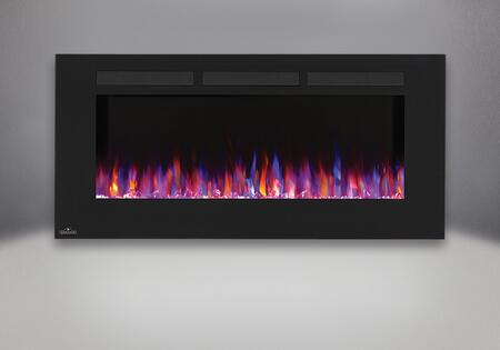 Allure 50 in. Fireplace   Orange and Blue Flame