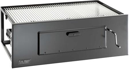 FireMagic 3334 Built-In Charcoal Grill