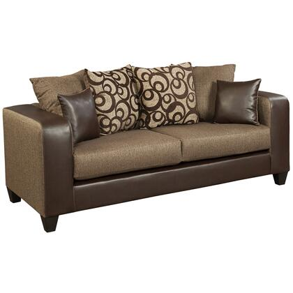 Flash Furniture RS-4120-0XS-GG Riverstone Chenille Sofa