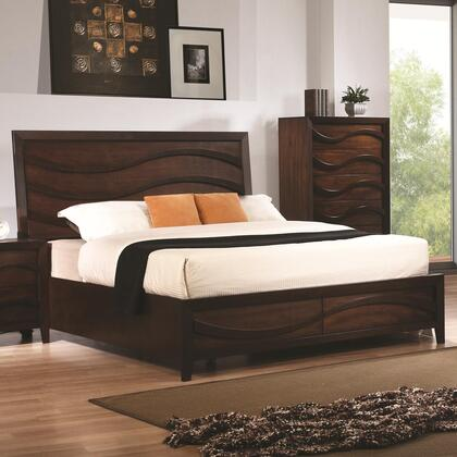 Coaster 203101KE Loncar Series  Eastern King Size Platform Bed